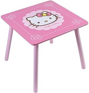 Tavolino Hello Kitty Legno.Cijep 711933 Arredo E Decorazione Tavolo A Fagiolo