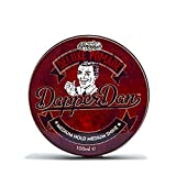 Deluxe Pomade By Dapper Dan, Mens Hair Styling Product With Medium Hold and Medium Shine, No Greasiness Or Flakiness, Scented With Citrus & Vanilla Fragrance 100ml