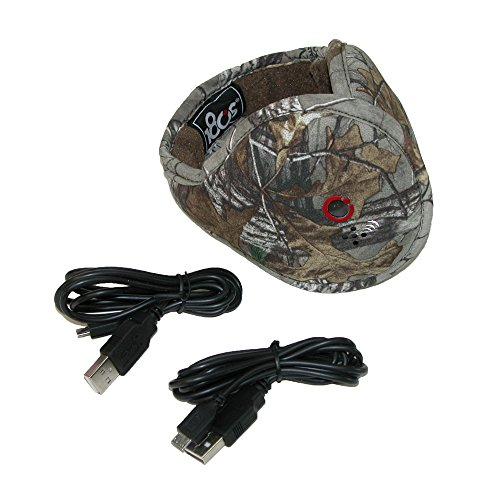 180s Realtree Camo Print Wrap Around Earmuffs with Bluetooth Headphones and Mic
