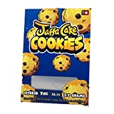 JAFFA CAKE COOKIES Stickers & Mylar Barrier Bag - 3.5 GRAM - Heat Sealable - (Zip Lock Canna Bags, Billy Kimber, Paris OG) (250)