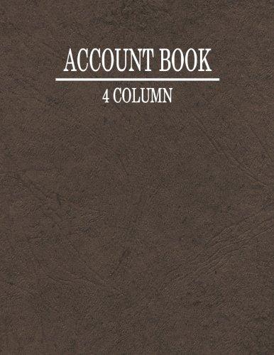 Download 4 Column Account Book ebook