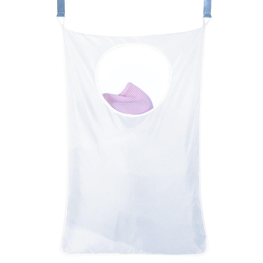 Hogar Hanging bolsa de ropa sucia sobre la puerta grande capacidad la ropa sucia bolsa de almacenamiento portátil Durable paño de Oxford bolsa de reciclaje zyurong