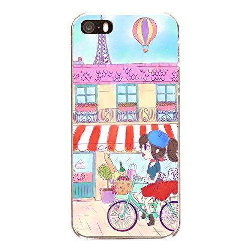 """Disagu SF-sdi-4558_1158#zub_cc6486 Design Schutzhülle für Apple iPhone SE - Motiv """"Parisienne"""""""
