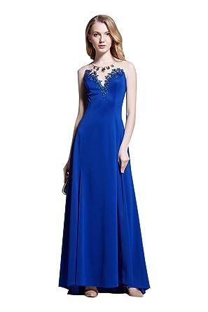 Beauty-Emily Spitze Transparent Sweet Heart A-Linie Rückenfrei  Abendkleider  Amazon.de  Bekleidung 324bb94ccf