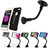 Best SQdeal Iphone 5s Phone Cases - Car Phone Mount Magnetic, [Long Gooseneck Design] Universal Review