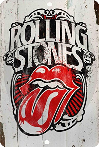 Rolling Stones Rock classic vintage look Reproduction Metal Sign 8 x 12 made in the USA