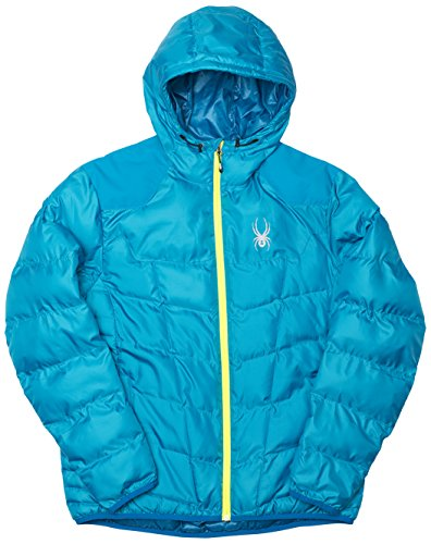 Yellow Men's Synthetic Blue Coat Geared Down Electric Concept Hoody Spyder Bryte Blue AdPwZFxqA