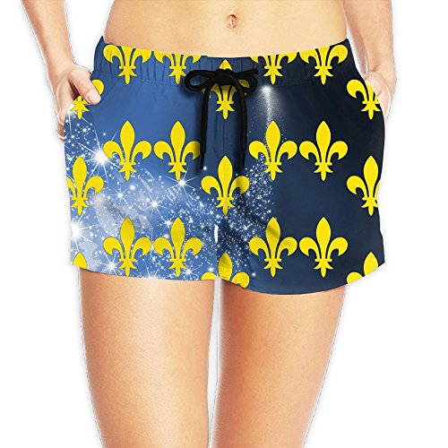 KCBHWS Flag Of France Tropical Beach Shorts Board - Outlet Miu Miu