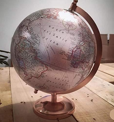 Balliatic Decorative Rotating 8 Inch World Globe With