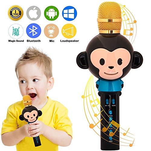 UVUXZLW Microphone for Kids Karaoke Microphone Bluetooth Wir