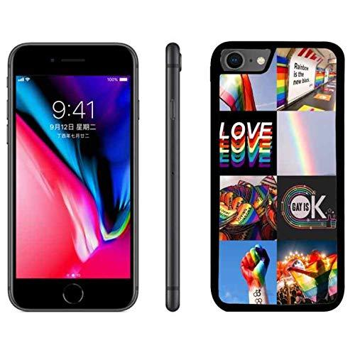 gay pride iphone 8 case