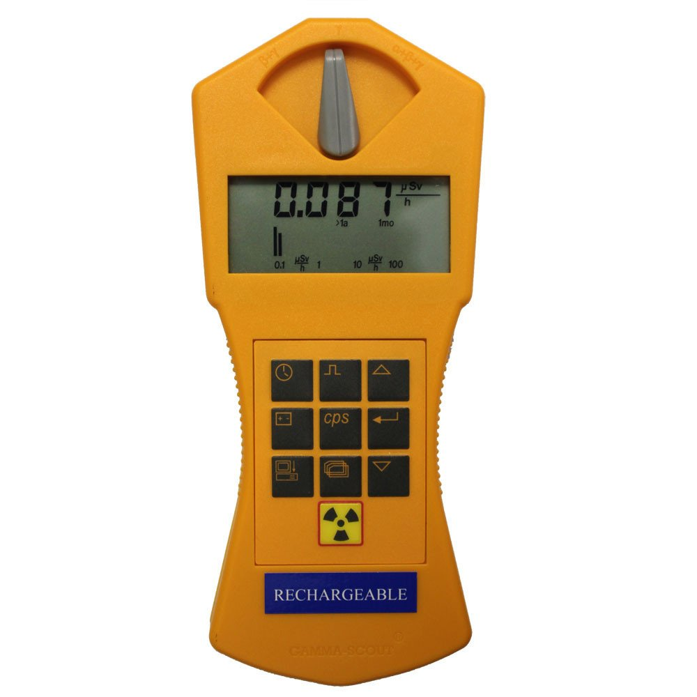 Gamma-Scout Rechargeable Geiger Counter Hand-held Radiation Detector - Rechargeable Model: Industrial & Scientific