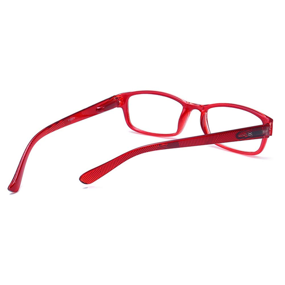 Amazon.com: Gafas de lectura transparentes de color neón de ...