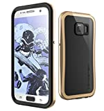Galaxy S7 Waterproof Case, Ghostek Atomic 2.0 Series for Samsung Galaxy S7  (Gold)