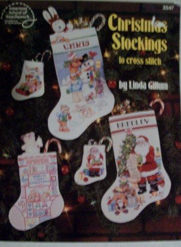 Christmas stockings to cross stitch