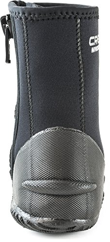 1946 Neoprene Water Tall Boots black Minorca By Since Cressi Sole Black Sport Quality With Made TqBwxw47