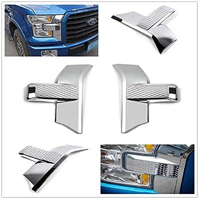 Aspeike for F150 F-150 15-18 Chrome Cover Trims Accessories