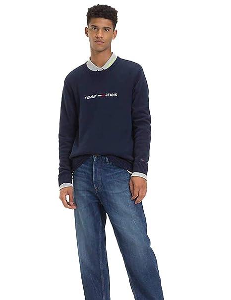 Tommy Hilfiger jersey de cuello redondo para mujer DM0DM05560 094 TJM TAPE INSERT SWEA TER: Amazon.es: Ropa y accesorios