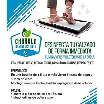 Tapete Charola desinfectante Amazon Cuidado del Hogar y Limpieza Salud, Belleza y Cuidado Personal