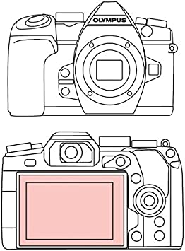 Olympus OM-D E-M5 Martin Fields Overlay Plus Screen Protector