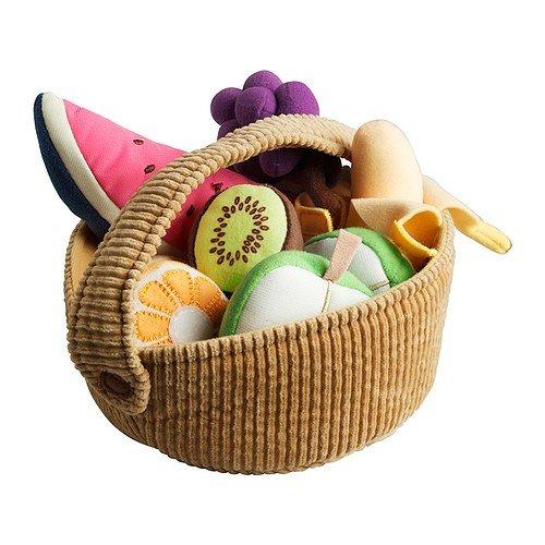 Ikea DUKTIG - 9-piece fruit basket set