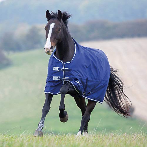Shires Tempest 1200D Lite Turnout 75 Navy/Gray by Shires