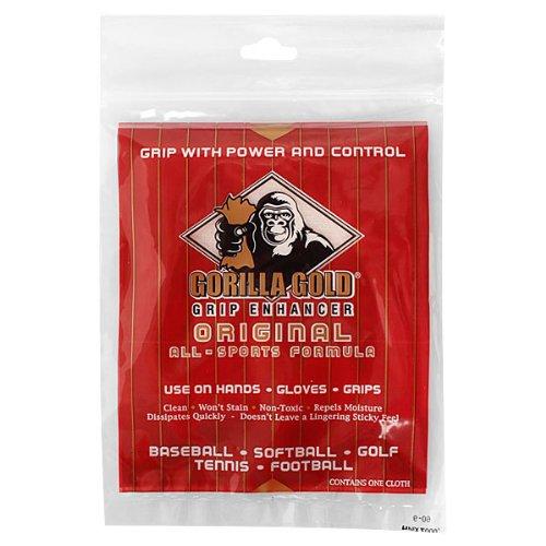 1 Cloth with Reseable Bag Gold Gorilla Grip Enhancer
