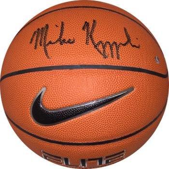 Amazon.com: Mike Krzyzewski signed Nike Elite NCAA Basketball (Coach ...