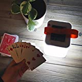 Zehui Solar Light Waterproof Outdoor Lantern Protable For Garden Yard Camping Hiking Foldable Inflatable Cube 3 Modes LED Lamp