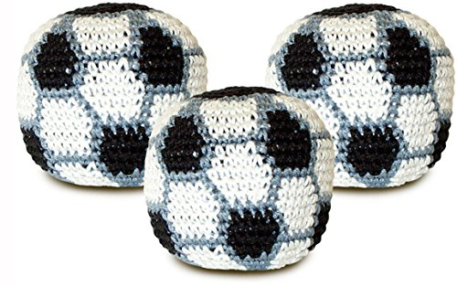 World Footbag Soccer Hacky Sack Footbag 3 pack by World Footbag