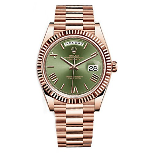 Rolex Day Date 40 President Everose Gold Watch (Large Image)