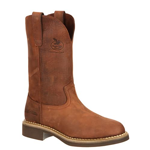 5697f4ffc53 Georgia Women's Carbo-Tec Pull On Leather Boots