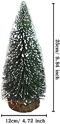 Gosear Mini árbol de Navidad Mesa de Escritorio decoración Navidad ...
