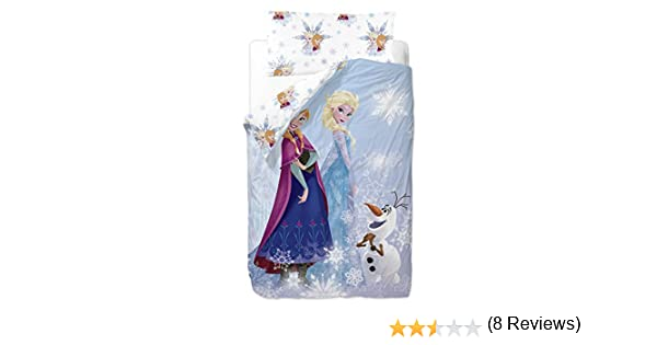 Disney Frozen Friends Saco nórdico de 2 Piezas para Cama de 90 cm Mezcla De Algodón, 25x90x190 cm: Amazon.es: Hogar