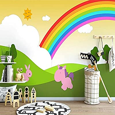 Custom 3d Photo Wallpaper For Kids Room Bedroom Cartoon Hand
