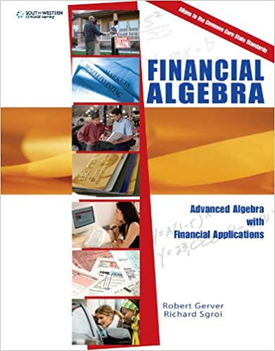 Workbook algebra balance scales worksheets : Amazon.com: Financial Algebra: Advanced Algebra with Financial ...