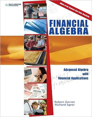 Amazon.com: Financial Algebra: Advanced Algebra with Financial ...