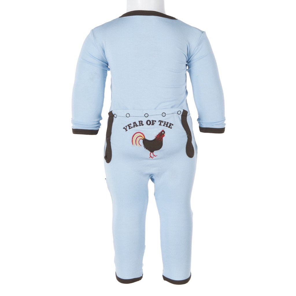 KicKee Pants Boys/Girls Fitted Applique Coverall 984047baby-girls