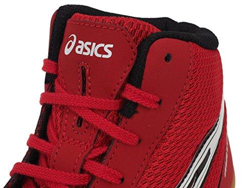Asics Ringerschuhe Wrestling Asics Matflex 5 - J504N 2301 - fiery red/white/black (40 1/2)
