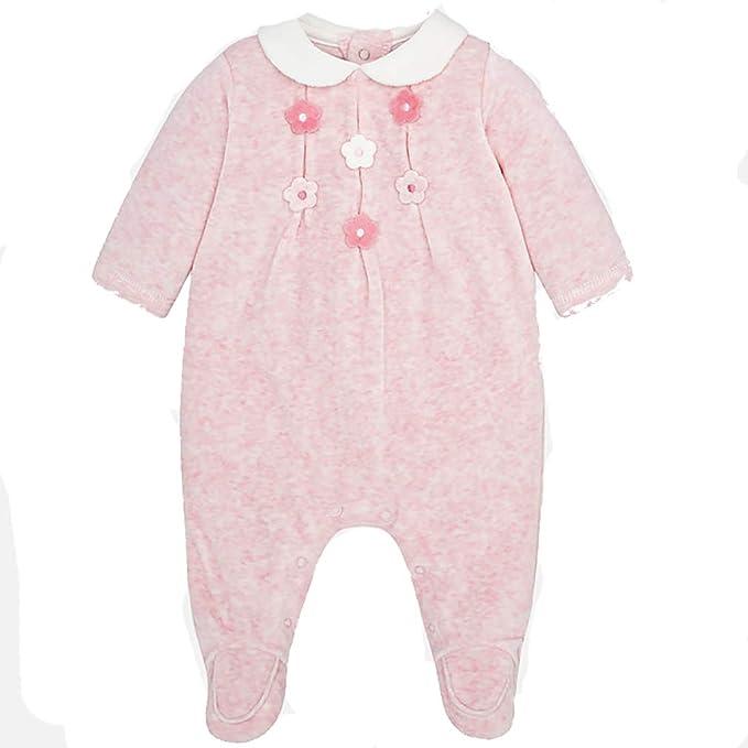 Mayoral - Pelele para Dormir - para bebé niña Rosa 1-2 Meses: Amazon.es: Ropa y accesorios