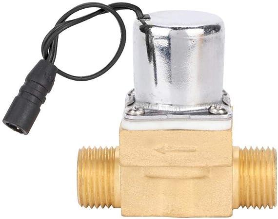 capteur durinoir de Salle de Bain 6V /électrovanne Accessoire de Maintenance /électrovanne /électrique JULYKAI /Électrovanne /électrique Eau air gaz B /électrovanne Eau air gaz