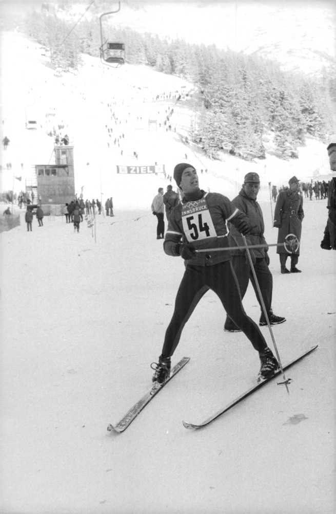Innsbruck Austria Skiing 1964 Winter Olympics T-Shirt