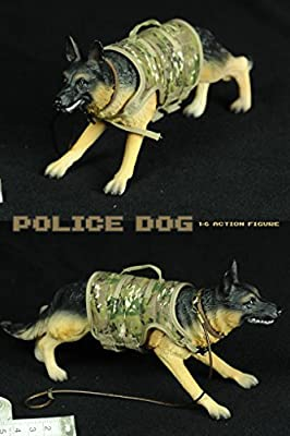Highly Detail Special Forces Action Police Dog Military Dog
