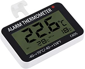 Thermometer, heat resistant freezer thermometer, for temperature display