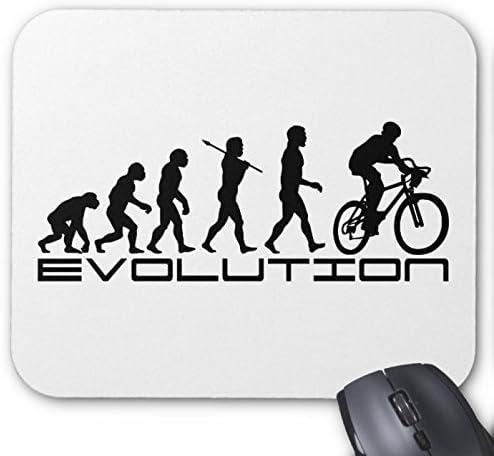 Bicicleta bicicleta cojín de ratón ciclista evolución: Amazon.es ...