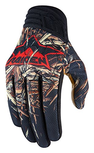 Icon Motorcycle Gloves Icon - Icon Raiden Deadfall Gloves Black XL 3301-2634