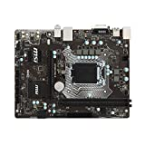 MSI B150M PRO-D Intel B150 Socket 1151 mATX Motherboard w/DVI, Audio & GbLAN (Certified Refurbished)