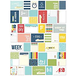 Simple Stories Snap Life Documented Week in Review Cards (148 Pack)