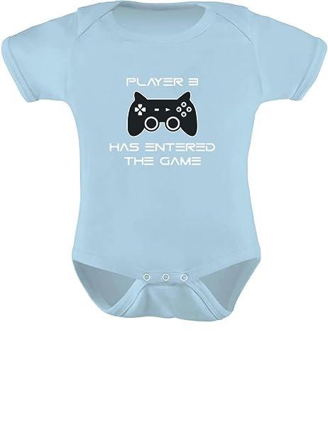 d56d16f4dd7e TeeStars - Player 3 Has Entered The Game - Gift Third Child Gamer Geek  Gamer Baby