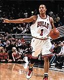 Derrick Rose Autographed Signed Chicago Bulls 8 x 10 Photo - COA - Mint Condition